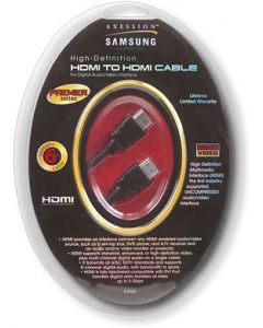 SAMSUNG HDMI TO HDMI CABLE 6FT