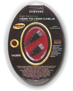 SAMSUNG HDMI TO HDMI CABLE 9FT